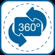 SALIDA DE AIRE 360°